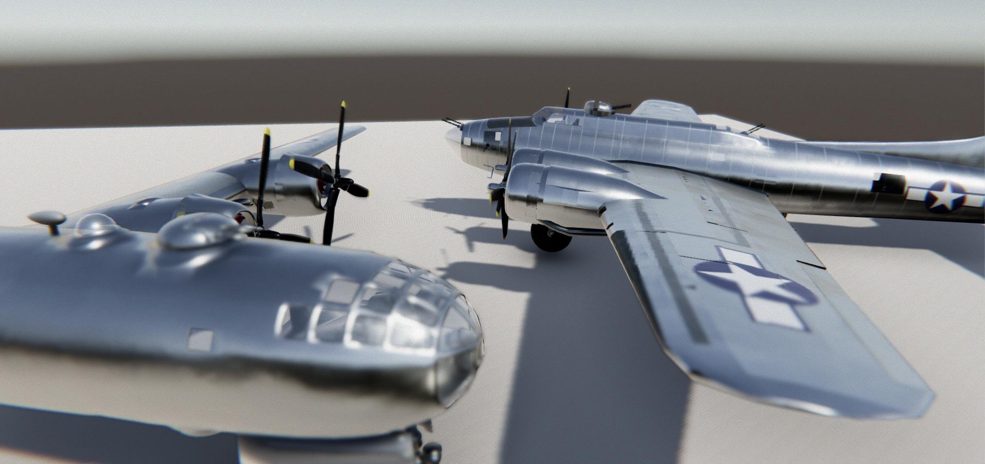 B-19 and B-24